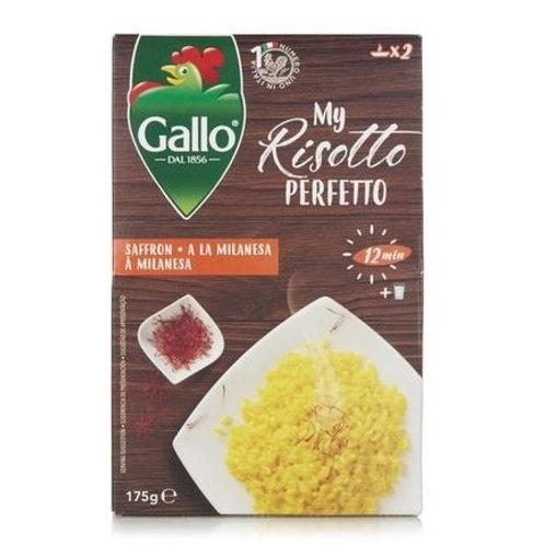 Gallo Risotto Pronto Safran Saffron 6 x 175g