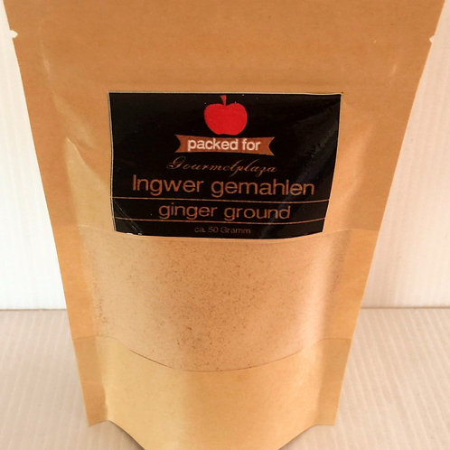 Ingwer gemahlen Ginger ground 50 g