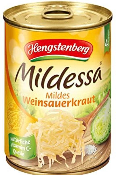 Hengstenberg Mildessa Weinsauerkraut 580ml