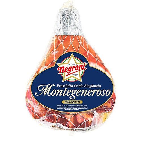 Negroni Montegeneroso Landschinken Prosciutto Raw Ham  7,5 Kg