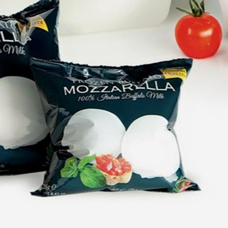 Tre Stelle's Mozzarella di Bufala - Büffelmilch Mozzarella 125g x 5