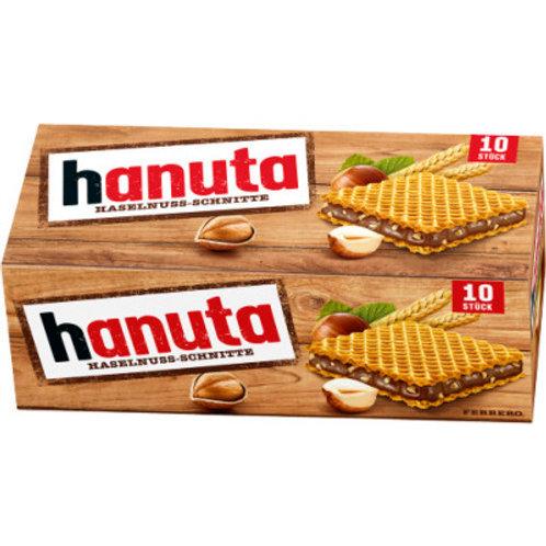 Hanuta Haselnuss-Tafeln 10er Pack