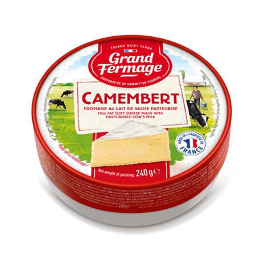 Grand Fermage Merci Chef Camembert 45% 2 x 240gr