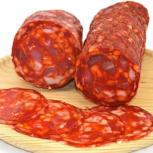 Chorizo forte pikant picante Spanische Salami ca. 200gr Aufschnitt