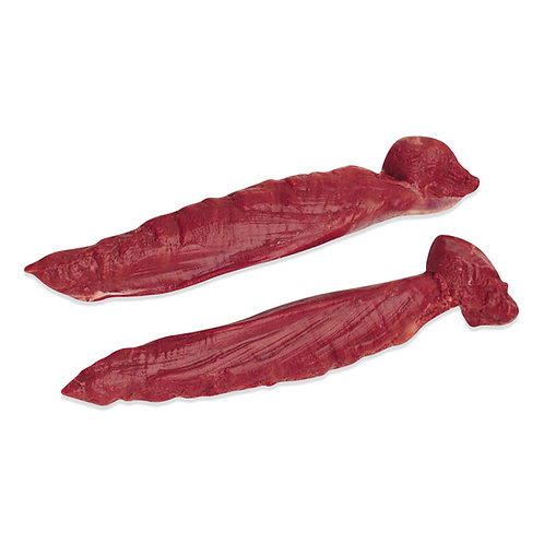 Wildfilet Venison Tenderloin 2 pieces ca. 1,2-1,4 Kg