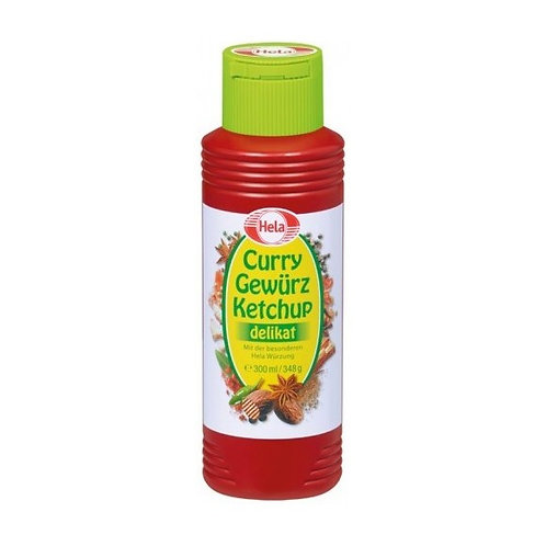 Hela Gewürz Ketchup Curry delikat 300 ml