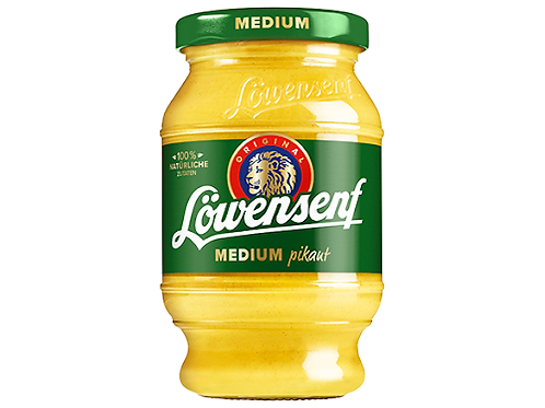 Düsseldorfer Löwensenf Medium pikant  250ml