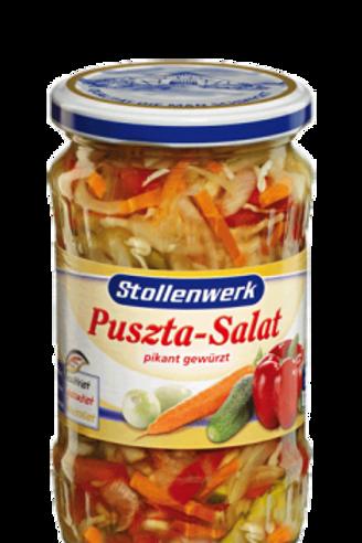 Stollenwerk Puszta-Salat pikant gewürzt 12x330gr