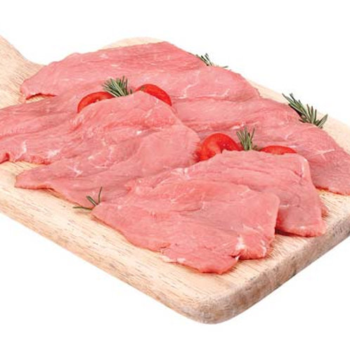 Kalbsschnitzel Veal escalope sliced 1 Kg