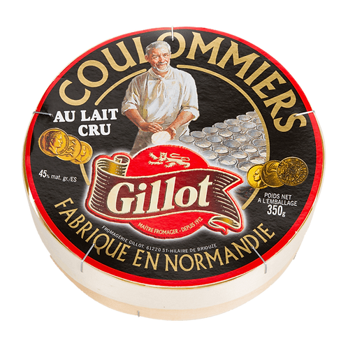 Gillot Coulommiers au lait cru 22% mg 2 x 350g