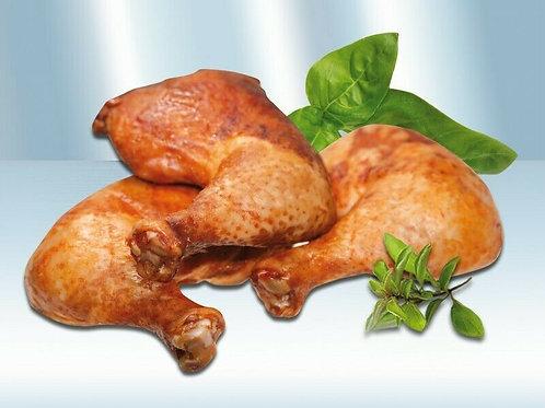 Kassler Hähnchenschenkel Hähnchenkeule geräuchert 2 Stück