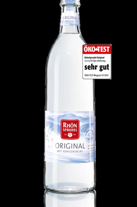 Rhoensprudel Mineralwasser Sparkling Water 1,5l PET