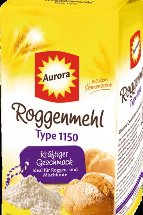 Aurora Roggenmehl Typ 1150  1000gr
