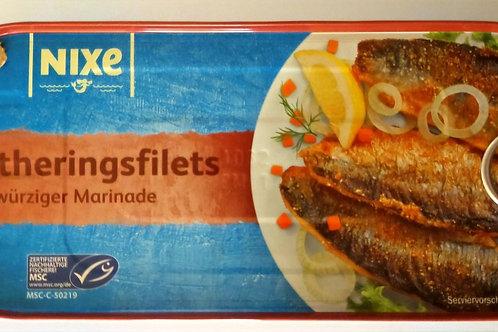 Nixe Bratherings Filets Bratheringe in würziger Marinade 325gr