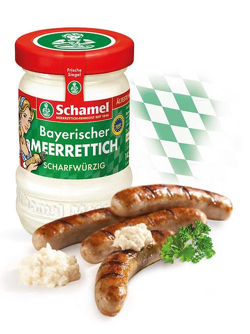 Schamel bayrischerTafelmeerrettich würzigscharf  145g