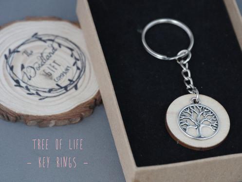 a2ebc982d1 The Woodland Gift Company | Women's Jewellery | Tree Of Life Key Ring