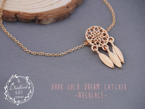 0ed5a9e3b The Woodland Gift Company | Women's Jewellery | Dream Catcher Necklace