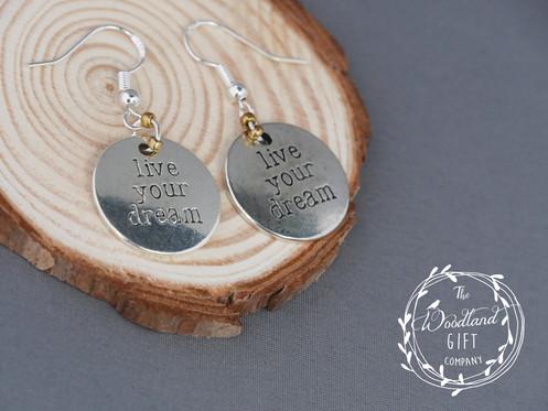 c58ccde9c Silver, Earrings, Drop Earrings, Women's, Birthday Gifts, Woodland Gifts,  For