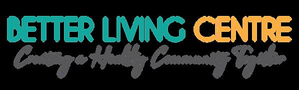 Better Living Center original text logo.