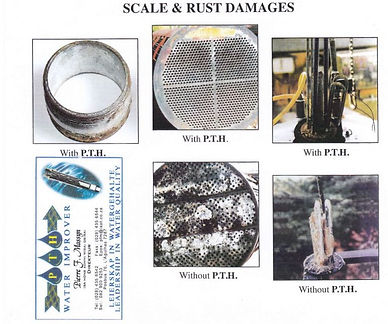 A look at scale and rust damage.