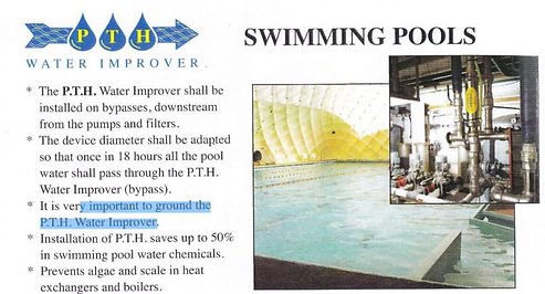 PTH and swimming pools