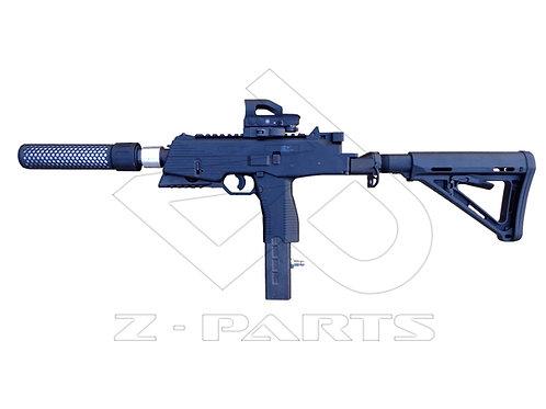 Adaptateur tube crosse M4 pour MP9