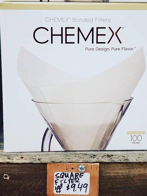 CHEMEX® BONDED FILTERS PRE-FOLDED SQUARES