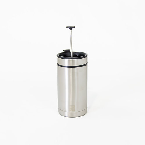 French Press To-Go Steel Toe with Bru-Stop