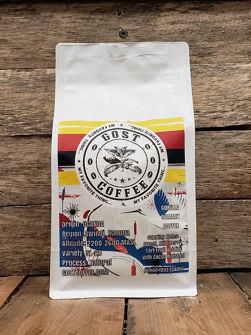 Uganda Gorilla Summit Coffee SL-28 Natural