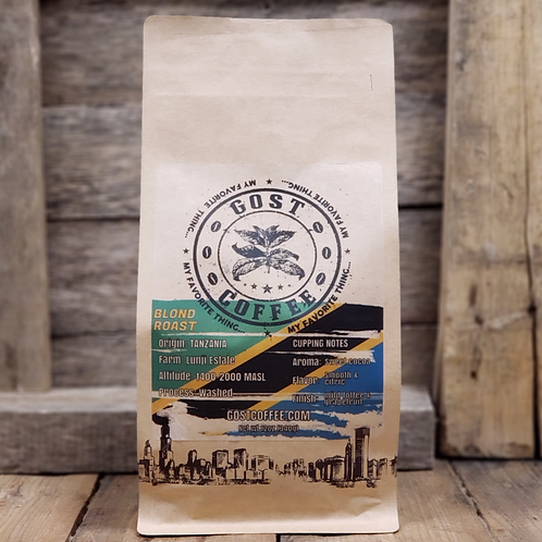 Tanzania - Blond Roast (best for pour over)