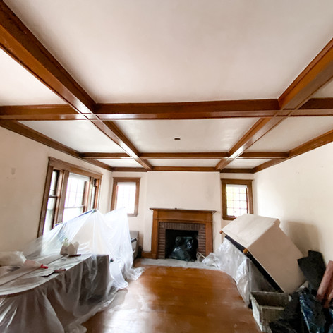 Ceiling Drywall Installation and Plastering