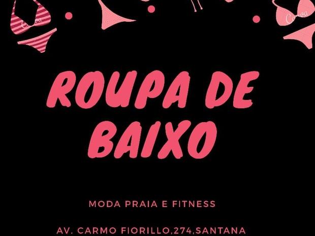 Roupa de Baixo Moda Praia & Fitness