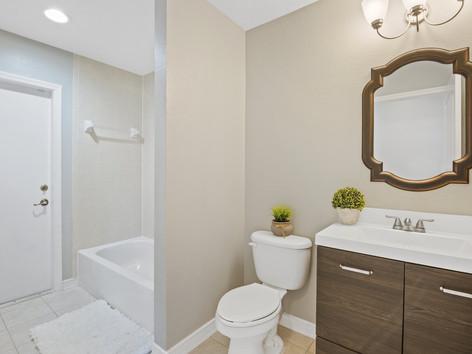 Newly Furnished Bathroom