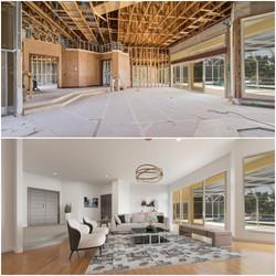 Living Room Virtual Renovation