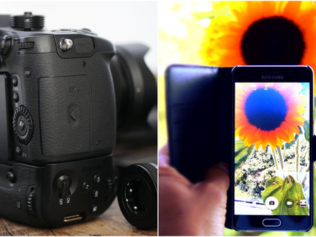 The difference between a pro-camera vs. phone for video