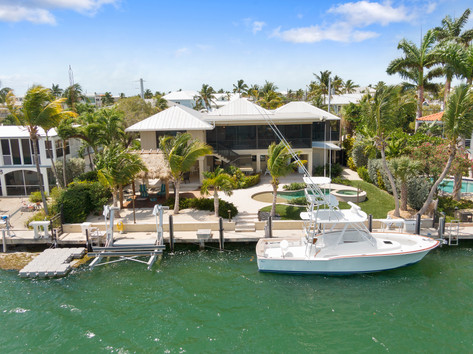 Islamorada Home with Boat