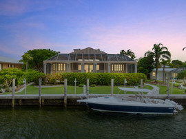 Virtual Twilight of Ocean Reef Mansion
