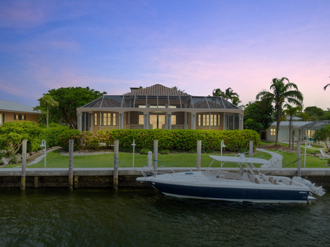 Virtual Twilight of Ocean Reef Mansion
