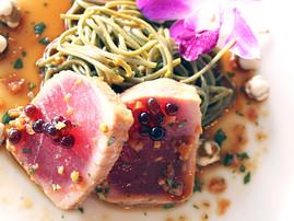 Beautifully prepared tuna