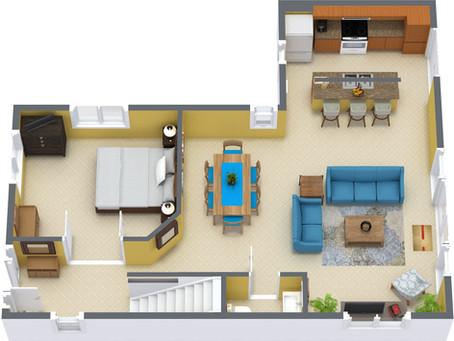 3D Floor Plan Benefits for Realtors