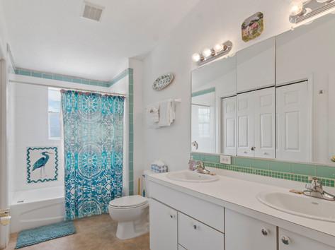Vacation Rental Bathroom