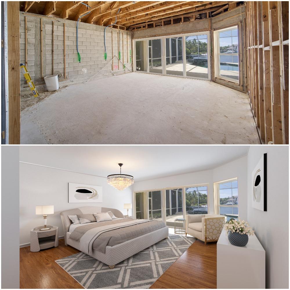 Master Bedroom Virtual Construction