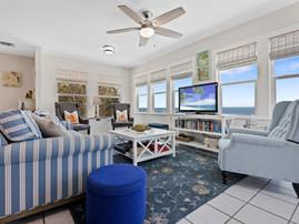 Open Water View Living Room