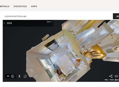 Pick the best room with a resort's Matterport showcase