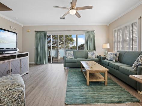 Hawks Cay Living Room Views