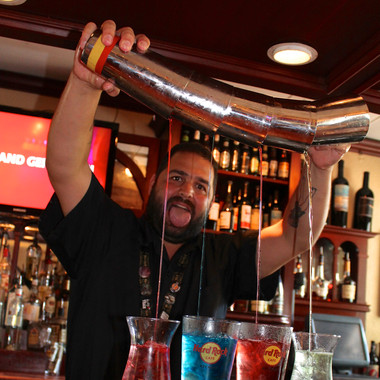 Bartender at Hard Rock Key West