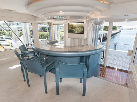 Bar on Yacht