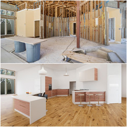 Large Kitchen Digital Renovation