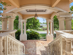 Front Porch at Ocean Reef Home