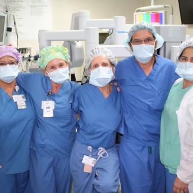 Gynocology Team in Key West uses new machine